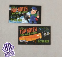 Billys Top Knotch Business cards