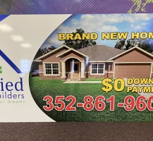Unified  Homebuilders Sign