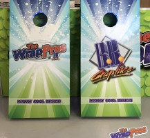 WrapPros/BB Graphics Cornhole Boards