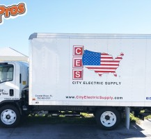 CES Electric Box Truck – Side
