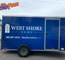 West Shore Homes Trailer – Side