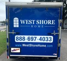 West Shore Home Trailer – Rear