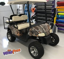 Realtree Camo Golf Cart