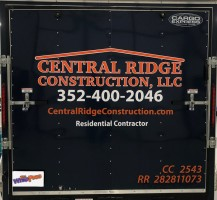 Central Ridge Construction, LLC. – Rear