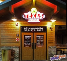 Texas Roadhouse Door Graphics