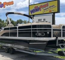 Tritoon Boat Wrap