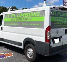 JT Plumbing Van