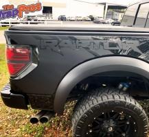 Satin Black Raptor Decals