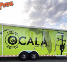 Ocala Utilities Enclosed Trailer