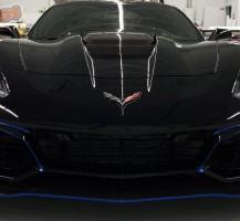 Corvette Blue Details