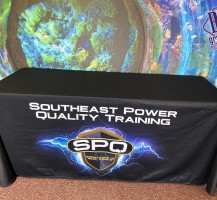 Southeast Power Quality Training Tablecloth
