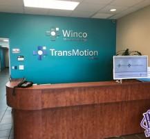 WINCO Lobby Signage