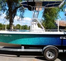 Seafox Ombre Fish Scale Boat
