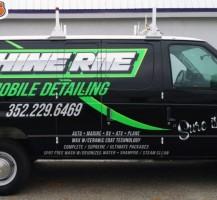 Shine Rite Mobile Detailing Van – Side