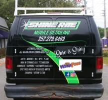 Shine Rite Mobile Detailing Van – Rear