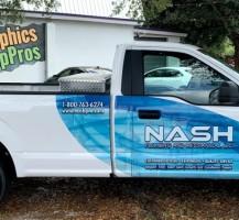 NASH Plumbing Pick Up Truck – Side
