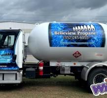 Belleview Propane Truck – Side