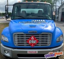 Belleview Propane Truck – Hood