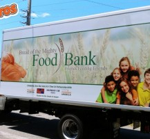 Bread of the Mighty Food Bank Box Truck