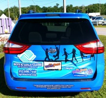Boys & Girls Club Van Trunk