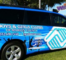 Boys & Girls Club Van Side