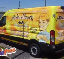 Mike Scott Gas Transit – Side
