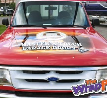 Master's Touch Garage Doors Ford Ranger – Hood