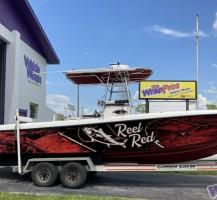 Reel Red Boat