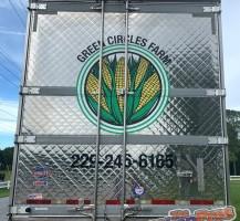 Green Circles Farm, GA Semi – Rear