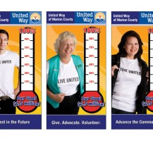 United Way Thermometers