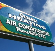 Ocala Heating and Air Sign