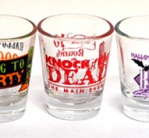 BB Graphics Halloween Shot Glasses