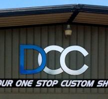 Detroit City Customs Building Sign