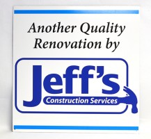 Jeff's Services Sign