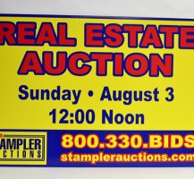 Stampler Auctions Sign