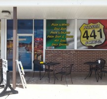 441 Pizzeria Windows