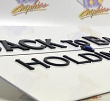 Back to Basics Holdings LLC. Acrylic Sign