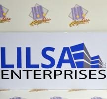 Lilsa Enterprises Vinyl Sign