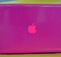 Glitter Pink Macbook Wrap