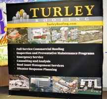 Turley Roofing Trade show Display