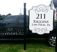 Riggins Law Firm, PA Sign