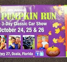 Ocala Pumpkin Run 2014 Banner