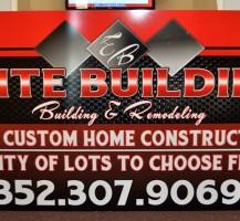 Elite Building Sign