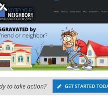 Notify Your Neighbor Website