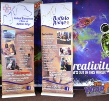 Buffalo Ridge Animal Hospital Trade Show Displays
