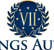 7 Kings Auto Logo Design
