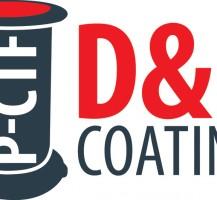 D&M Coatings Logo Design