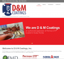 D&M Coatings Website