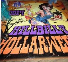 BBG Hillbilly Hollarween Floor Graphic