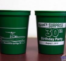 Surprise Birthday Cups